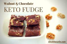 Chocolate+Walnut+Keto+Fudge