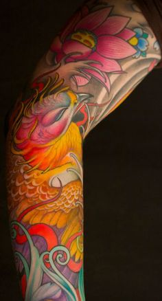 Jeff Gogue shark tattoo | ... awards and being featured in various tattoo magazines worldwide