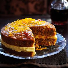 16 Feb 2020 - This sticky marmalade cake is a moist carrot and orange cake with marmalade and cream cheese frosting. The zesty orange flavours are just gorgeous! Cupcakes, Cupcake Cakes, Marmalade Cake Recipe, Dessert Cake Recipes, Cake Ingredients, Let Them Eat Cake, So Little Time, No Bake Cake, Sweet Recipes