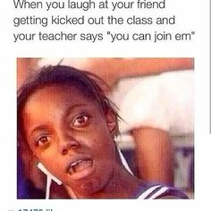 Hilarious Memes Cant Stop Laughing Haha 13 Funny School Pictures, Funny School Memes, Crazy Funny Memes, School Humor, Really Funny Memes, Stupid Funny Memes, Funny Relatable Memes, Funny Tweets, Funny Facts