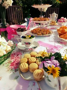 Lillian's 1st Birthday Afternoon Tea Party