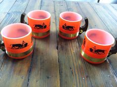 Bullfighter mugs from Siesta Ware. Available now at Mid Mod Collective. Email midmodcollective@gmail.com for more info.