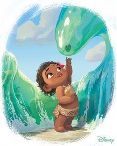 "1,888 mentions J'aime, 9 commentaires - Walt Disney Animation Studios (@disneyanimation) sur Instagram : """"The ocean is my friend."" #NationalBestFriendsDay"""