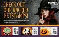 Online Postage, Buy Stamps, Halloween, Prints, Movie Posters, Stuff To Buy, Film Poster, Halloween Stuff, Printmaking
