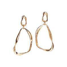 Modern Sculpted Hoop Earrings. New at www.deannasbeautyonline.com. #hoops #jewelry #earrings