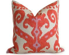 Luxurious Cotton Velvet Designer Pillow cover in a beautiful shade of Coral / Orange / Peach. Coral Velvet on both sides  Size: 12x20 inch  Zipper enclosure and overlocked stitched & serged sewn for a professional finish  Pillow form not included  *Also available in 20x20 (SEE OTHER LISTING)  Please note this is not a Salmon Pink