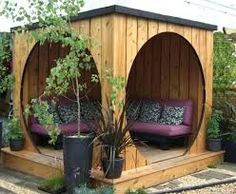 Image result for backyard seating area