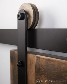 barn door hardware - Modern Roller Strap - modern and rustic