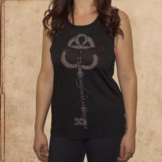 the Raven - Nevermore - Poe - women's relaxed fit tank - black