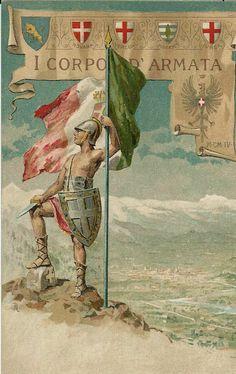 House Of Savoy, Kingdom Of Italy, History Images, Poster Vintage, Ex Libris, Sardinia, World War I, Warfare, Nostalgia
