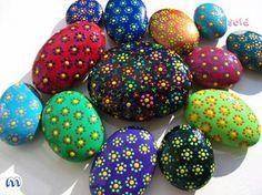myosotis: pedras pintadas | painted stones by myosotis