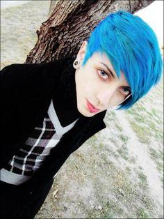Emo Scene, Psychobilly, Youtubers, Steampunk, Indie, Goth, Dreadlocks, Hair Styles, Beauty