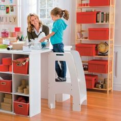 Step-Up Kitchen Helper Step Ladder