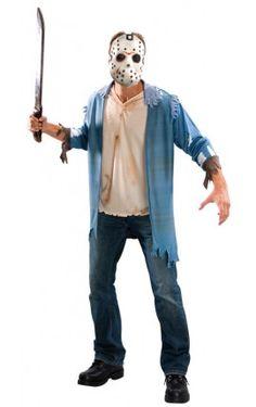 Kit disfraz de Jason asesino Viernes 13 para hombre