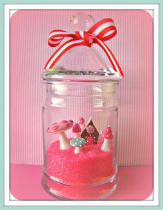 candyland terrarium this is just too fabulous...must keep my eyes peeled to make this