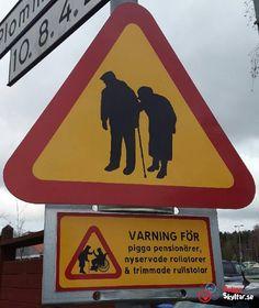 Varningsskyltar-arkiv - Roliga skyltar