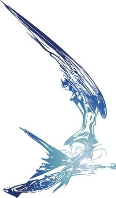 Next is Dissidia, I promise! Final Fantasy Logo, Final Fantasy Characters, Final Fantasy Artwork, Fantasy Series, The Revenant, Arte Black, Yoshitaka Amano, Wings Logo, Tattoo Project