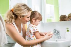 It's vital to wash your hands and to teach your kids to wash hands during cold and flu season. Visit Old Bridge Drugs in Old Bridge, NJ for pharmacy needs. Parenting Goals, Autism Parenting, Parenting Hacks, Flu Prevention, Flu Remedies, Practical Life, Flu Season, Pregnancy Test, Lemon Water