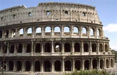 Ancient Roman Architecture Colosseum.