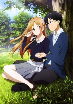 Asuna & Kirito, Sword Art Online