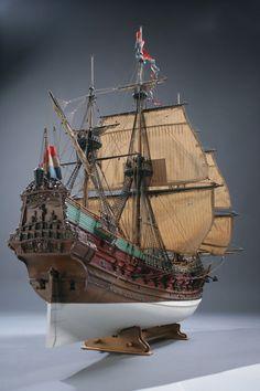 Корабль голландской Ост-индской компании Принц Виллем, 1651 г.