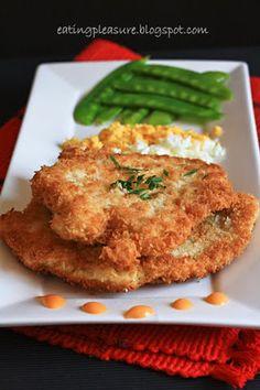 Chicken Schnitzel--one of Matt's favorites