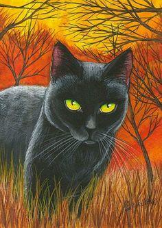 cazador, ilustración de Lisa Monica Nelson