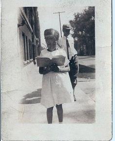 """maria-pimentos:  """"Peggy, Always Reading"""" (circa 1930s) Courtesy..."""