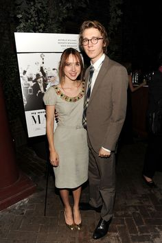Zoe Kazan & Paul Dano, an extremely talented couple! Ruby Sparks, Zoe Kazan, Paul Dano, Celebs, Celebrities, Guys And Girls, Actors & Actresses, Beautiful People, Celebrity Style