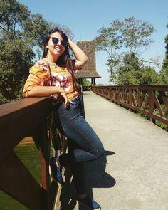 Fazendo a bloguerinha em Curitiba. #Curitiba #viagem #trip #brazil #bosquedoalemao #blogger #blogueirinha