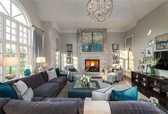 100 Transitional Living Room Decor Ideas 76