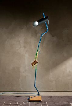 'Composizioni' floor lamp  Martino Gamper / Nilufar