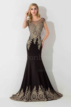 Find More Prom Dresses Information about 2015 real picture New Arrival Beaded  Lace Appliques Mermaid  Crystal Black Cheap Dress For Prom Party Dresses Evening Dress,High Quality dress pants for girls,China dress kate Suppliers, Cheap dress barbie from party  Queen Fashion Store on Aliexpress.com