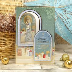 Christmas Themes, Christmas Cards, Foil Highlights, The Nativity Story, Hunkydory Crafts, True Meaning Of Christmas, Christmas Blessings, Card Making Kits, Card Making Inspiration