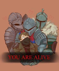 Chosen Undead,DS персонажи,Dark Souls,фэндомы,Bearer of the curse,DSII персонажи,Dark Souls 2,Hunter (Bloodborne),BB персонажи,BloodBorne,Ashen One,DSIII персонажи,Dark Souls 3