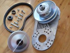 "GO Kart Torque Converter clutch replaces 3/4"" BORE #40 #41 OR #35 + 1 EXTRA BELT"