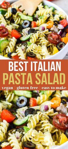 Best Salad Recipes, Fruit Salad Recipes, Salad Dressing Recipes, Chicken Salad Recipes, Pasta Recipes, Vegetarian Recipes, Cooking Recipes, Healthy Recipes, Healthy Pasta Salad