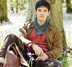 A very handsome photo of Colin Morgan from the promos for series 5!