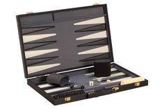 "A set you'd be proud to own & play on or gift it this holiday season! ALL games ship FREE Ground! The Game Supply - 18"" Modern Backgammon Game Set, $42.95 (http://www.thegamesupply.com/18-modern-backgammon-game-set/) #backgammongamesets"
