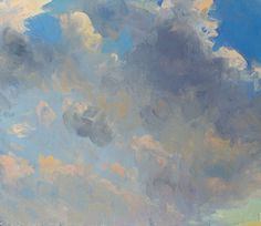 Duane Keiser a painting a day: Sky