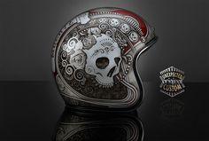 custom helmet Hasta La Muerte