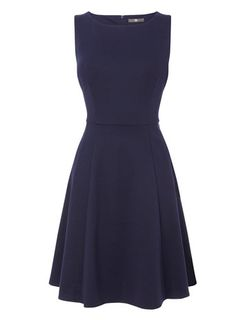 Ponte Fit And Flare Dress available in Navy too! at Bhs Flare Dress, Dress Up, Great British, Work Looks, Fit And Flare, Autumn Winter Fashion, New Baby Products, Women Wear, Dresses For Work