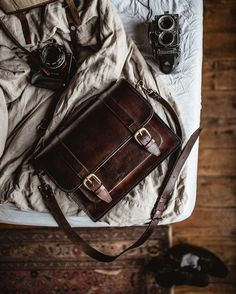 3ef1887dc5 Classic Leather Satchel by Beara Beara