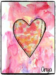 bricolage coeur, saint valentin, amour, peinture enfant Valentines Surprise, Valentines Outfits, Valentine Crafts, Valentine Party, Valentine Poster, Kindergarten Themes, Book Page Art, Puffy Paint, Saint Valentine