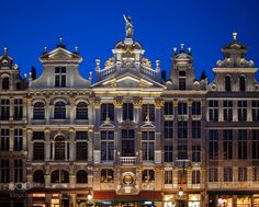 Grand Place Guild house by hicastle