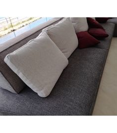 risultati immagini per grey sofa peninsula | sofa | pinterest ... - Angolo Chaise Whistler Grigio