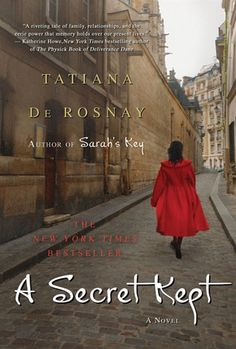 """A Secret Kept"" by Tatiana De Rosnay"