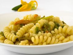 Pasta with Zucchini Flowers