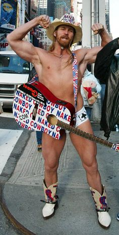 What's a visit to NYC without visiting the naked cowboy in Times Square :) I saw him!!
