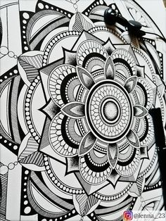 Mandala.1 by drawingsbylenna23